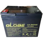 Globe U1-36NE 12V 36Ah Long ciklikus elektromos kerékpár akkumulátor