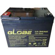 Globe U1-36NE 12V 36Ah elektromos kerékpár akkumulátor