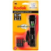 KODAK LED Flashlight ULTRA 60 LED elemlámpa 3XAAA