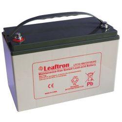 Leaftron LTC12-100 12V 100Ah elektromos kerékpár akkumulátor