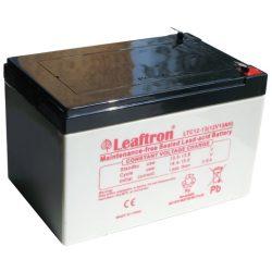 Leaftron LTC12-13 12V 13Ah elektromos kerékpár akkumulátor