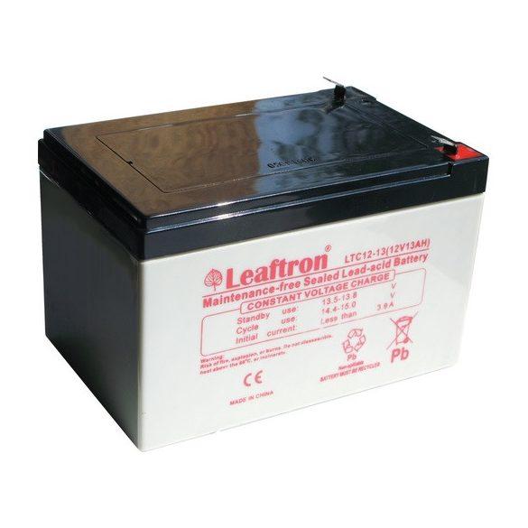 Leaftron LTC12-13 12V 13Ah ciklikus elektromos kerékpár akkumulátor