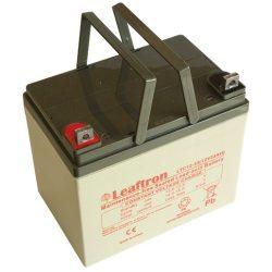 Leaftron LTC12-33 12V 33Ah elektromos kerékpár akkumulátor