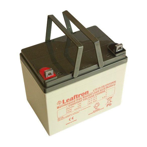 Leaftron LTC12-33 12V 33Ah ciklikus elektromos kerékpár akkumulátor