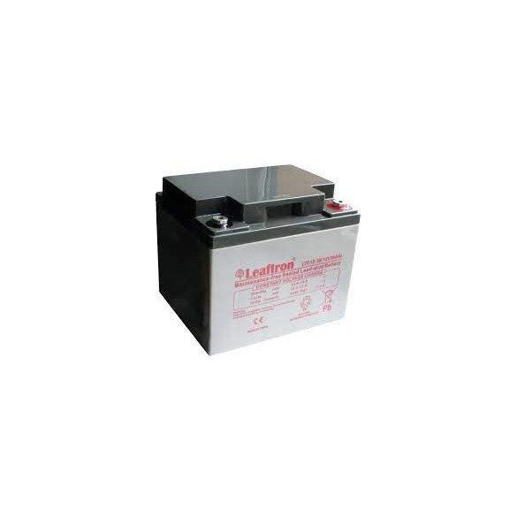 Leaftron LTC12-38 12V 38Ah ciklikus elektromos kerékpár akkumulátor