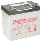 Leaftron  LTC12-55 12V 55Ah elektromos kerékpár akkumulátor