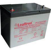 12V 75Ah Leaftron LTC12-75 elektromos kerékpár akkumulátor