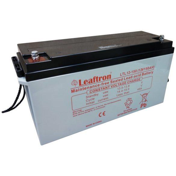 Leaftron LTL12-150 12V 150Ah zselés akkumulátor