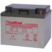 Leaftron LTL12-40 12V 40Ah zselés akkumulátor