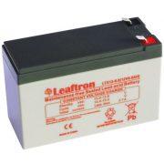 12V 9Ah Leaftron LTX12-9 zselés akkumulátor