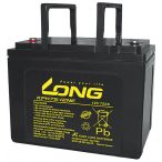 Long KPH75-12NE 12V 75Ah ciklikus elektromos kerékpár akkumulátor