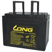 Long KPH75-12NE 12V 75Ah elektromos kerékpár akkumulátor