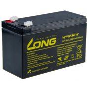 Long WP1236W 12V 9Ah zselés akkumulátor