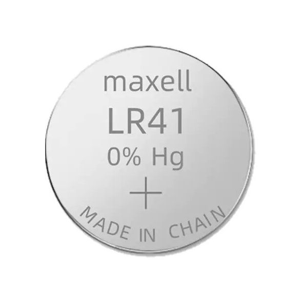 Maxell 192 LR41 AG3 alkáli gombelem
