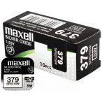 Maxell 379 SR521SW ezüst-oxid gombelem