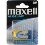 Maxell ALKALINE 9V 6LR61tartós elem