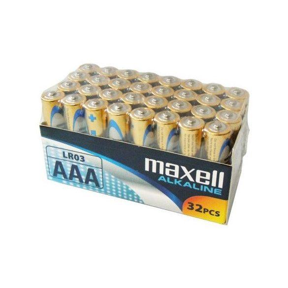 Maxell ALKALINE LR03 AAA mikro tartós elem