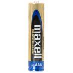 Maxell SUPER ALKALINE AAA LR03 tartós mikro elem