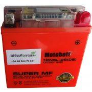 12V 5Ah MotoBatt 12N5L-BS(iGEL) motor akkumulátor