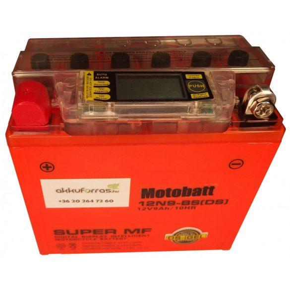 MotoBatt 12N9-BS(iGEL) 12V 9Ah motor akkumulátor