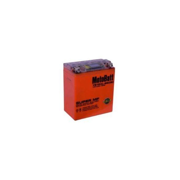 MotoBatt YB12AL-BS iGEL 12V 12Ah motor akkumulátor