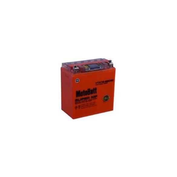 MotoBatt YTX16-BS iGEL 12V 14Ah motor akkumulátor