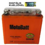 MotoBatt YTX5L-BS (iGEL) 12V 4Ah motor akkumulátor