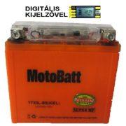 12V 4Ah MotoBatt YTX5L-BS (iGEL) motor akkumulátor