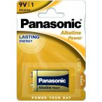 Panasonic ALKALINE Power 9V 6LR61 tartós elem