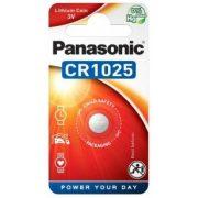 Panasonic CR1025 3V lithium gombelem