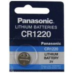 Panasonic CR1220 Lithium Batteries 3V gombelem