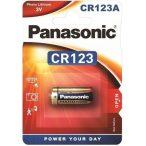 Panasonic CR123 elem