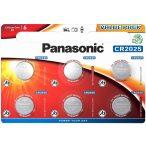 Panasonic CR2025 6db Lithium gombelem