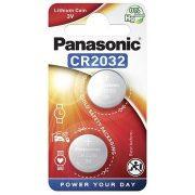 Panasonic CR2032/2bl Lithium gombelem