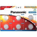 Panasonic CR2032 6db Lithium gombelem