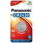 Panasonic CR2430 1db Lithium gombelem