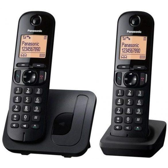 Panasonic KX-TGC212PDB DUO DECT asztali telefon