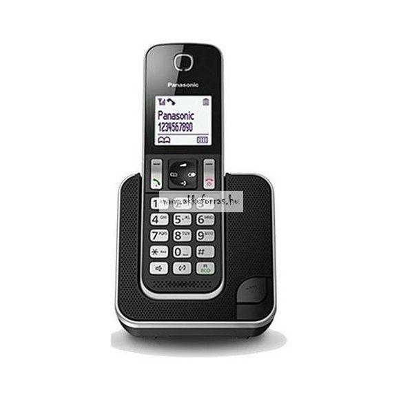 Panasonic KX-TGD310PDB DECT asztali telefon