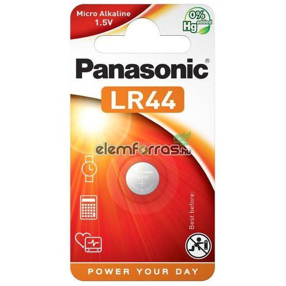 Panasonic LR44 AG13 alkáli gombelem