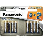 Panasonic Everyday Power AA LR6 tartós ceruza elem