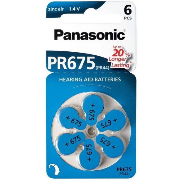 Panasonic PR675 PR44 DA675 hallókészülék elem