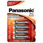Panasonic Pro Power LR6 AA MN1500 tartós ceruza elem