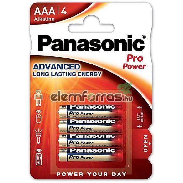 Panasonic Pro Power AAA LR03 tartós mikro elem