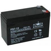 Power Kingdom PS7-12 12V 7Ah zselés akkumulátor