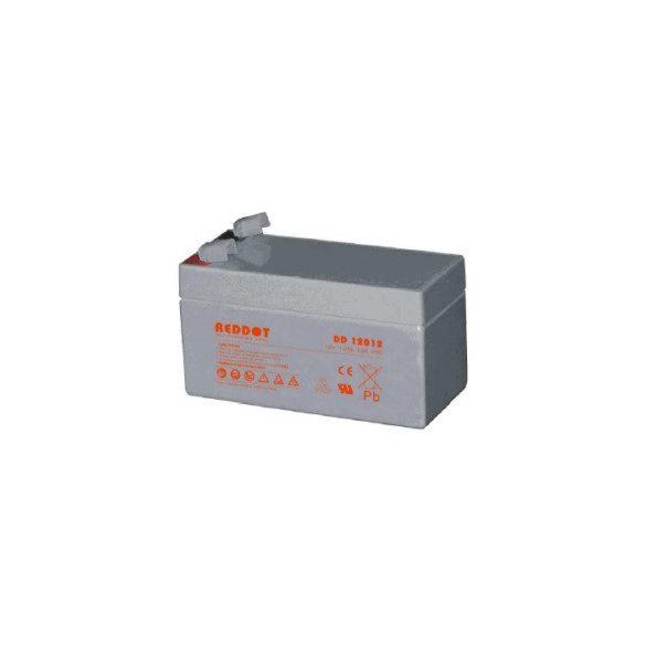 REDDOT DD12012 12V 1,2Ah zselés akkumulátor