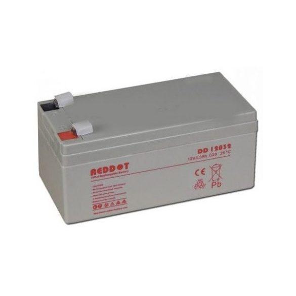 REDDOT DD12032 12V 3,2Ah zselés akkumulátor