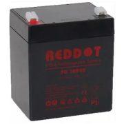 12V 4Ah REDDOT DD12040 zselés akkumulátor