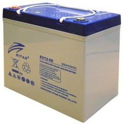 Ritar EV12-58 12V 58Ah elektromos kerékpár akkumulátor