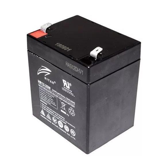 Ritar HR12-20W 12V 5Ah nagyáramú zselés akkumulátor