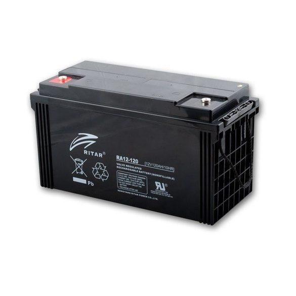Ritar RA12-120 12V 120Ah zselés akkumulátor